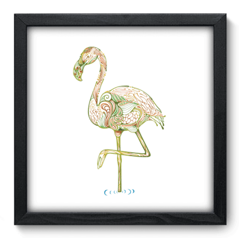 Quadro Decorativo - Flamingo - 161qdsp
