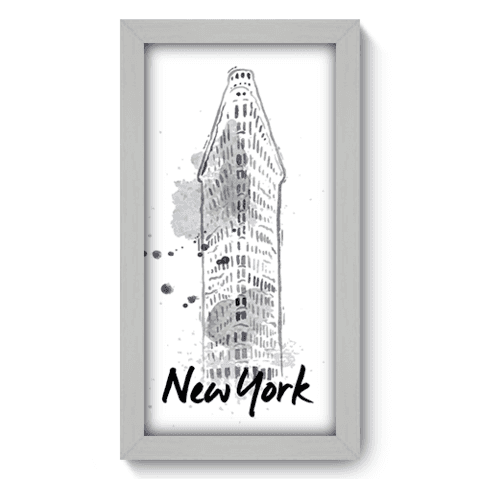 Quadro Decorativo - New York - 170qdmb