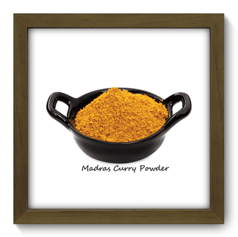 Quadro Decorativo - Curry - 175qdcm