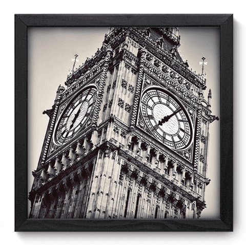 Quadro Decorativo - Big Ben - 177qdmp