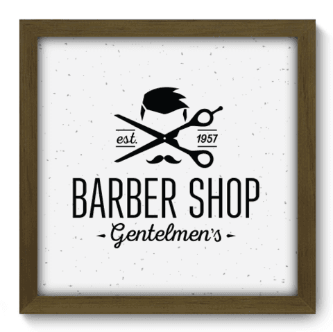 Quadro Decorativo - Barbearia - 179qddm