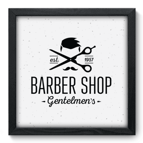 Quadro Decorativo - Barbearia - 179qddp