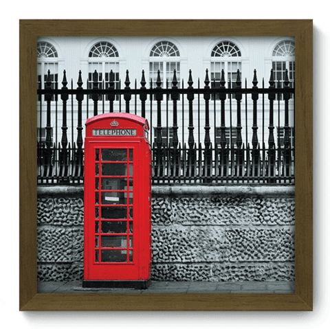 Quadro Decorativo - Londres - 181qdmm