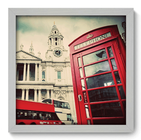 Quadro Decorativo - Londres - 182qdmb