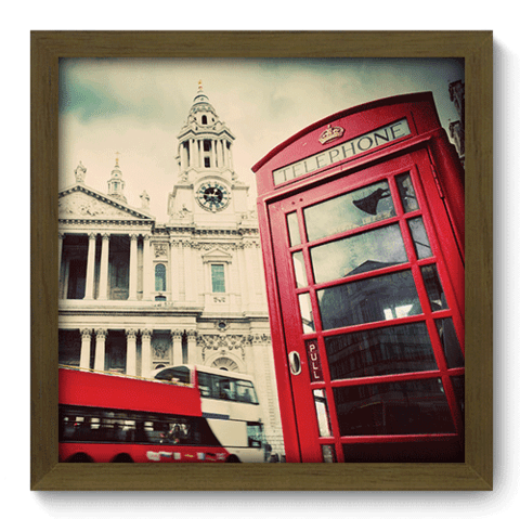 Quadro Decorativo - Londres - 182qdmm