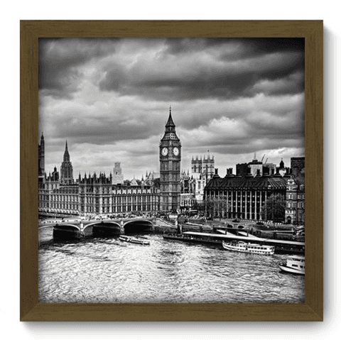 Quadro Decorativo - Londres - 186qdmm