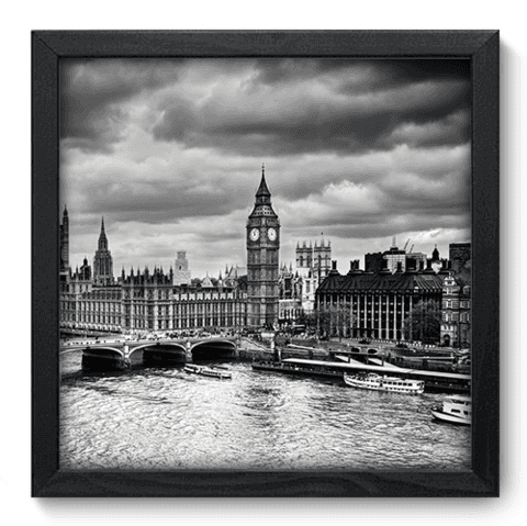 Quadro Decorativo - Londres - 186qdmp
