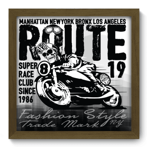 Quadro Decorativo - Motorcycle - 187qddm
