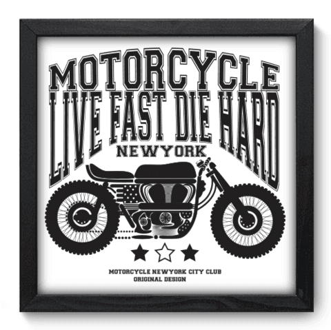 Quadro Decorativo - Motorcycle - 188qddp