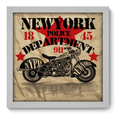 Quadro Decorativo - Motorcycle - 191qddb