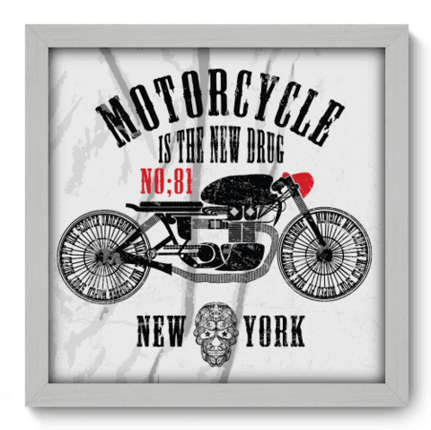 Quadro Decorativo - Motorcycle - 192qddb