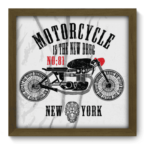Quadro Decorativo - Motorcycle - 192qddm