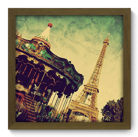 Quadro Decorativo - Paris - 194qdmm