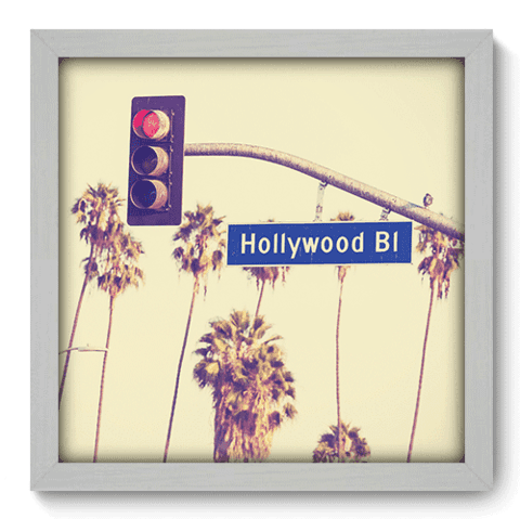 Quadro Decorativo - Hollywood Boulevard - 195qdmb