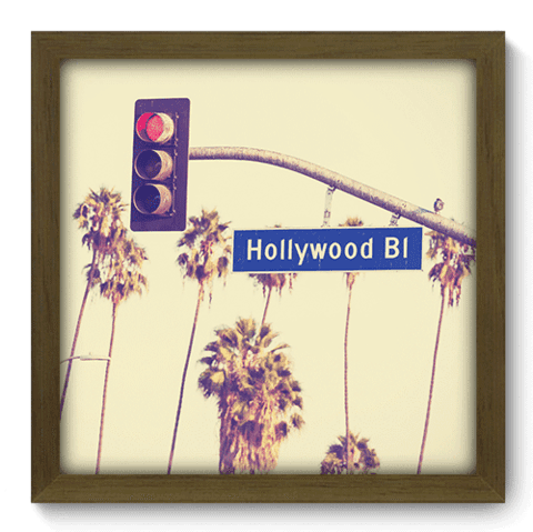Quadro Decorativo - Hollywood Boulevard - 195qdmm