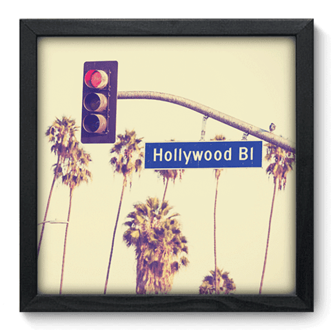 Quadro Decorativo - Hollywood Boulevard - 195qdmp