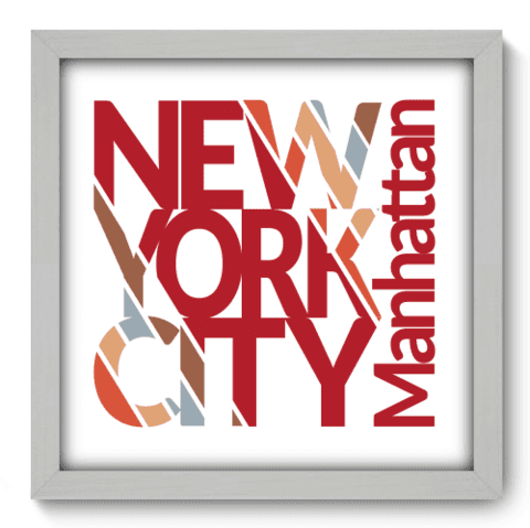 Quadro Decorativo - New York - 204qdmb