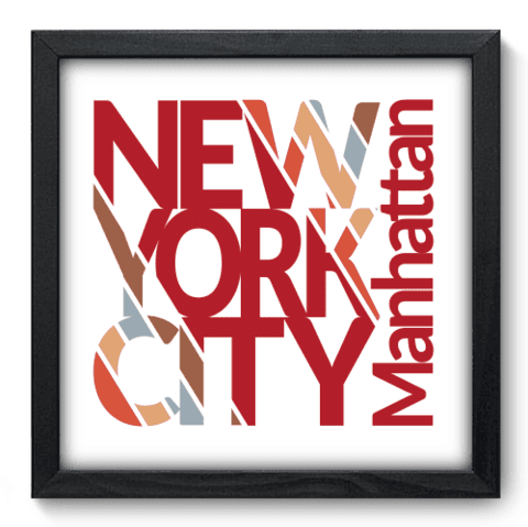 Quadro Decorativo - New York - 204qdmp