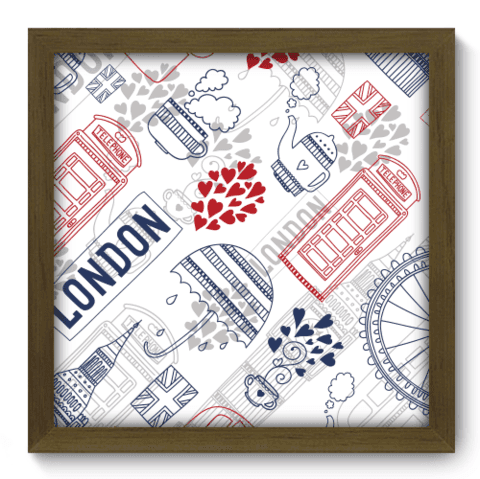 Quadro Decorativo - Londres - 208qdmm