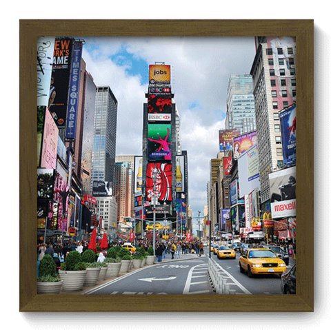 Quadro Decorativo - New York - 209qdmm