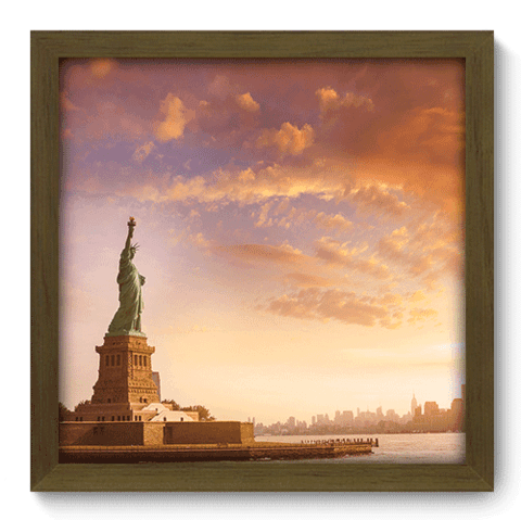 Quadro Decorativo - New York - 212qdmm