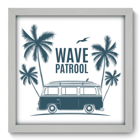 Quadro Decorativo - Wave Patrol - 217qddb