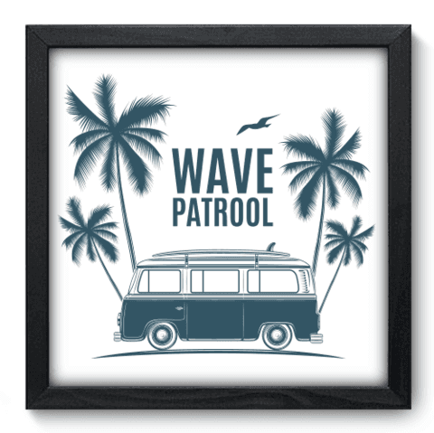 Quadro Decorativo - Wave Patrol - 217qddp