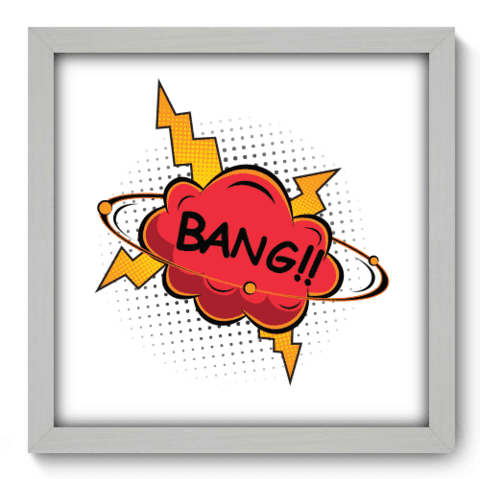 Quadro Decorativo - Bang - 219qddb