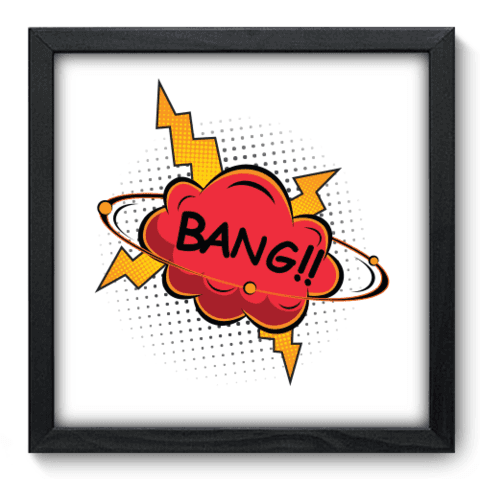 Quadro Decorativo - Bang - 219qddp