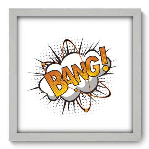 Quadro Decorativo - Bang - 221qddb