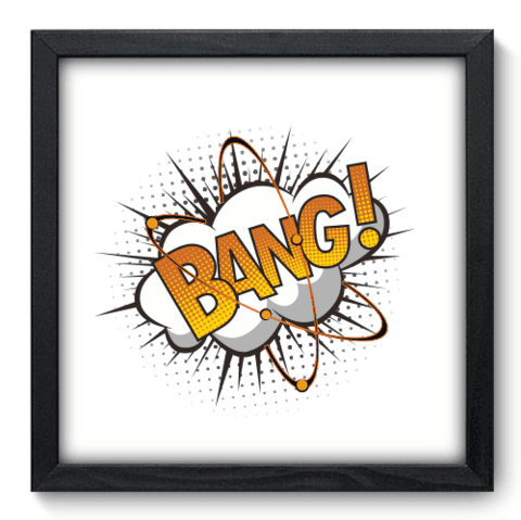 Quadro Decorativo - Bang - 221qddp