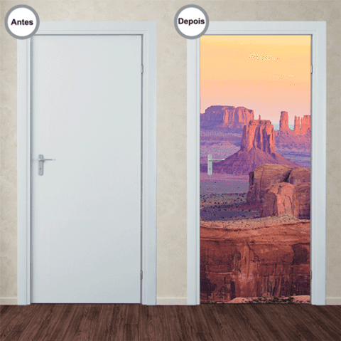 Adesivo Decorativo de Porta - Grand Canyon - 255pt