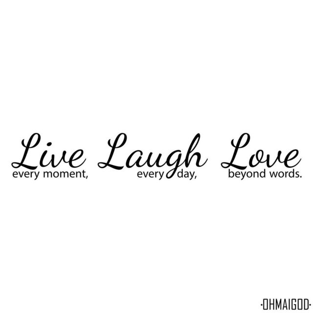 LIVE LAUGH LOVE - comprar online