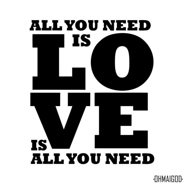 ALL YOU NEED IS LOVE - comprar online