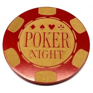 Porta Copo Poker Night