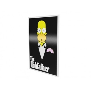 Quadro Homer - The Dohfather - comprar online