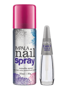 Kit  Nail Spray - Pink - comprar online