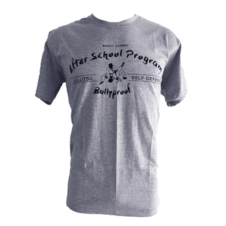 T-shirt After School Program Cinza - comprar online