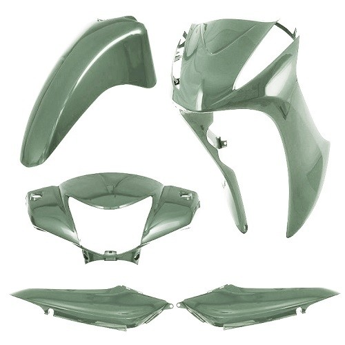 CARENAGEM KIT BIZ125 2011 VERDE S / ADES TK
