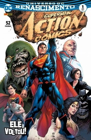 Superman Action Comics  Renascimento vol 1
