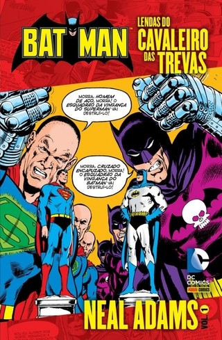 Batman:Lendas do Cavaleiro das Trevas vol 1, de Neal Adams