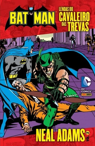 Lendas do Cavaleiros das Trevas vol 2, de Neal Adams