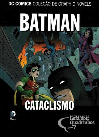DC Comics Coleção de Graphic Novels Batman - Cataclismo