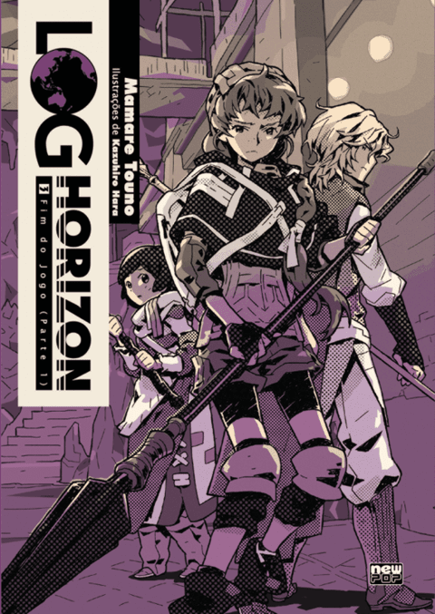 Log Horizon: Livro vol. 3, de Mamare Touno