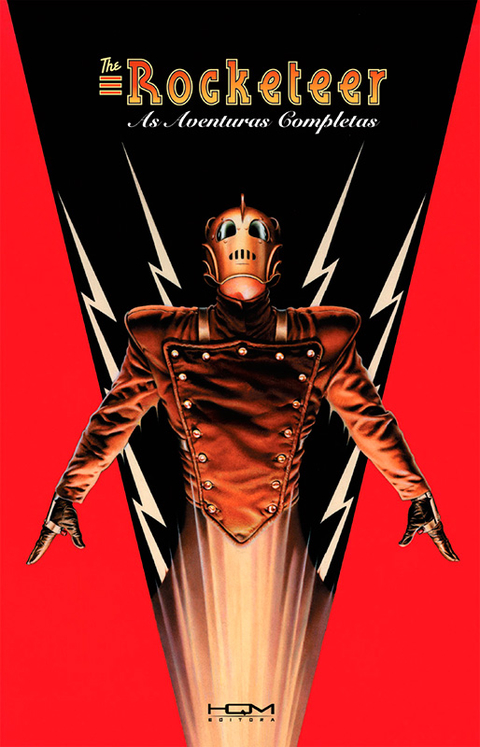 The Rocketeer - As Aventuras Completas,de Dave Stevens - Capa Dura