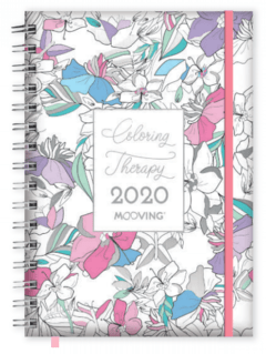 Agenda Coloring Therapy 15x21