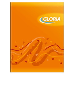 Cuaderno Gloria Flexible Rayado (24 hjs)