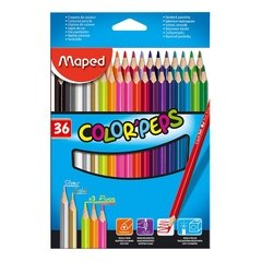 Lápices Maped x 36 colores