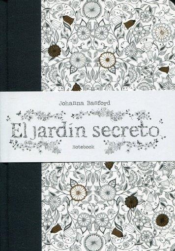 El Jardin Secreto Johanna Basford Cuaderno De Notas