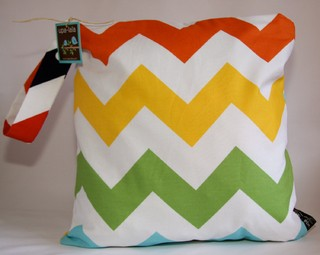 Chevron Wide Rainbow
